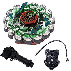 Poison Serpent Fight Metal 4D Gyro Battling Tops BB69 Gyroscope (Gyro+Black Launcher+Handle)