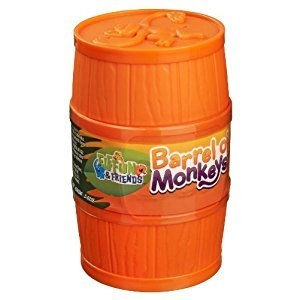 Elefun and Friends Barrel of Monkeys Game, Assorted Colours