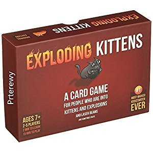 Exploding Kittens: Original Edition (red)