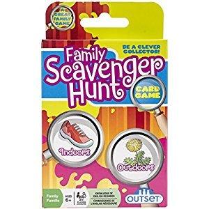 Outset Media Family Scavenger Hunt Card Game