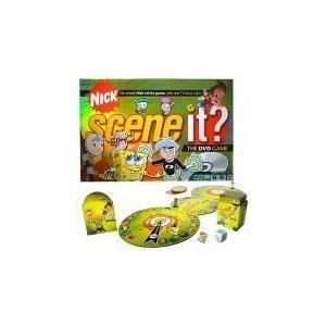 Mattel Scene It? Nickelodeon Dvd Board Game