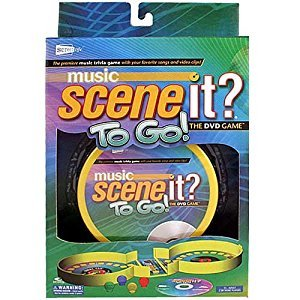 Music Scene It To Go DVD Game