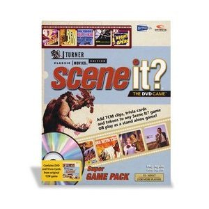 Scene It DVD Game Turner Classic Movies Edition