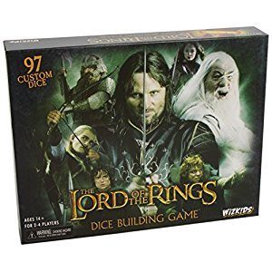 LORD OF THE RINGS DICE BUILDING BOARD GAME