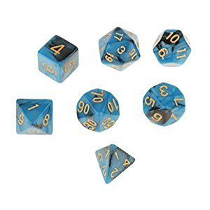 Set of 7 Multi Sided Dice Dungeons D&D RPG Games #3