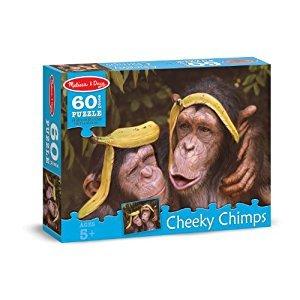 Melissa & Doug Cheeky Chimps Jigsaw Puzzle (60 pcs)