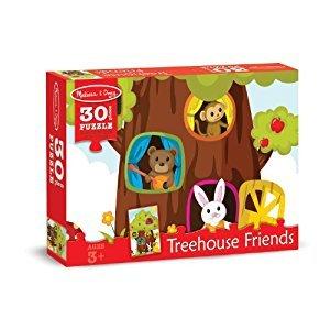 Melissa & Doug Treehouse Animal Friends Jigsaw Puzzle (30 pcs)