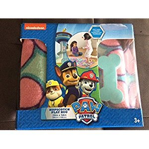 Paw Patrol Hopscotch Game Rug Pink 26
