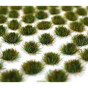 WWS Autumn 4mm Self Adhesive Static Grass x 100 Tufts AUT004