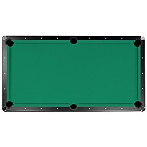 Hathaway Championship Saturn II Billiard Cloth Pool Table Felt, 8-Feet, Green