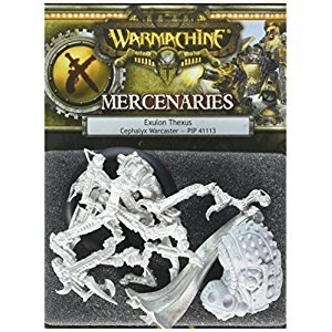 Privateer Press PIP41113 Warmachine-Mercenary: Exulon Thexus Model Kit