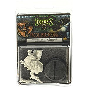 Privateer Press PIP71059 Hordes-Trollblood: Jarl Skuld Model Kit