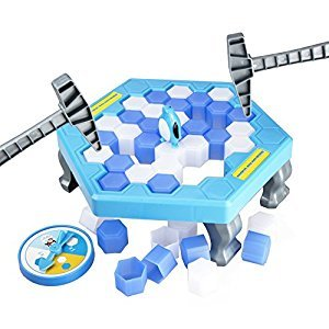 TOYMANY Save The Penguin Game Gaming Desktop Save Penguin Icebreaker Puzzle Table Games Paternity Interactive Game
