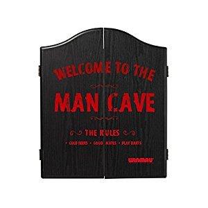 Winmau Printed Dartboard Cabinet (Man Cave)