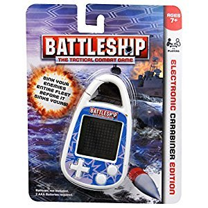 Hasbro Battleship Carabiner Clip-On Game