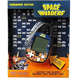 Hasbro Space Invaders Carabiner Clip-On Game