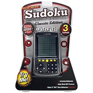 Pocket Arcade Sudoku Hand Held Electronic Game - Classic Edition