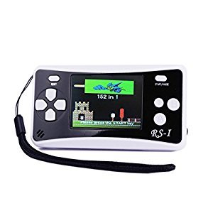 QINGSHE RS-1 Handheld Game Console for Children,Retro Game Player with 2.5