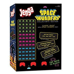 Jenga Space Invaders Collector's Edition Game