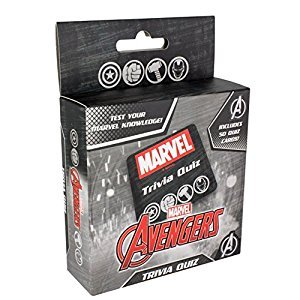 Official Marvel Avengers Trivia Knowledge Quiz - Stocking Filler