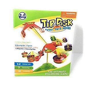 Tip Disk Balancing Family Game