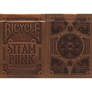 Bicycle Steampunk Playing Cards Theory11 Version Bronze Embossed Box