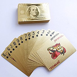 DMaos Poker 24K Gold Playing Cards
