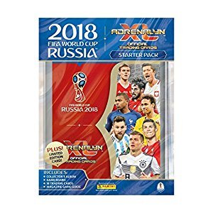 FIFA World Cup 2018 Adrenalyn XL Starter Pack (Dispatched From UK)