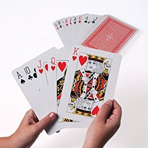US Toy Company MU34 Giant Playing Cards