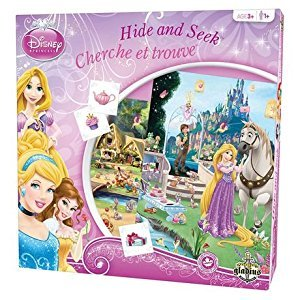 Editions Gladius International Disney: Princess Edition Hide And Seek Game - Bilingual (GLA7682)