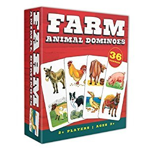 Outset Media Farm Animal Dominoes