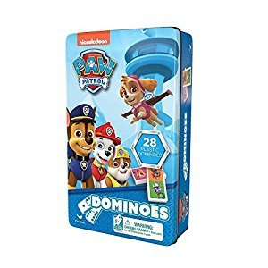 PAW Patrol Dominoes Tin