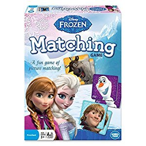 The Wonder Forge WON 1439 Disney Frozen Matching Game