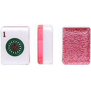 Yellow Mountain Imports Set of 166 American Mahjong (Mah Jong, Mahjongg, Mah-Jongg, Mah Jongg) Tiles,