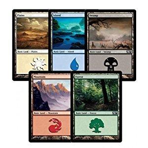 300 Assorted Magic: The Gathering MTG Basic Lands Cards