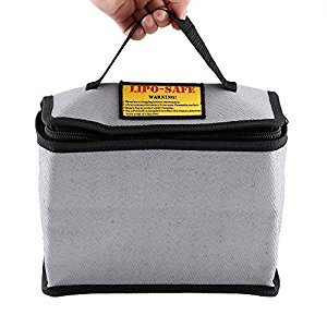 Fireproof LiPo Battery Charging Storage Bag with Handle Large Size 215 * 115 * 155mm