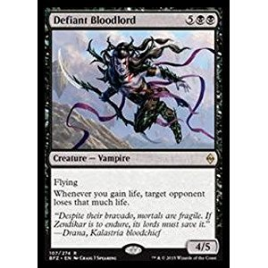 Magic: the Gathering - Defiant Bloodlord (107/274) - Battle for Zendikar by Magic: the Gathering