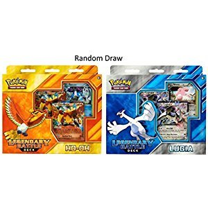 Pokemon Card Game TCG Legendary Battle Decks: HO-Oh & Lugia Dual Pack