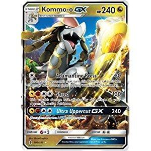 Pokemon TCG Guardians Rising Single: Kommo-o-GX 100/145