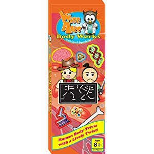 Griddly Games 4000211 Wise Alec, Body Works Travel Game and Expansion Pack