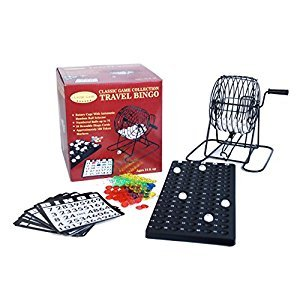 John N. Hansen Travel Bingo Game Set