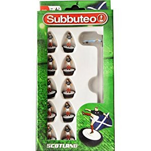 Subbuteo Official Scotland Football Club Team (Dispatched From UK)