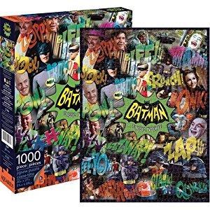 Aquarius Batman 66 Collage Puzzle (1000-Piece)