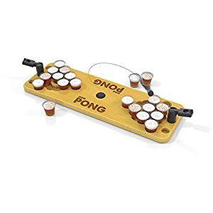 Buffalo Games Mini Pong-Bring The Party Anywhere Game