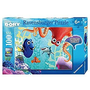 Ravensburger Disney: Finding Dory Glow in The Dark Puzzle (100 Piece)