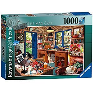 Ravensburger -The Man Cave 1000 pc Puzzle