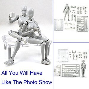 xlpace Action Figure Model for SHF Body Kun Doll PVC Body-Chan DX Set 2.0