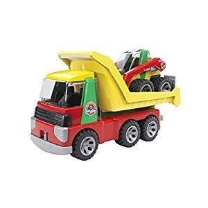 Bruder Transporter with Skid Steer Loader