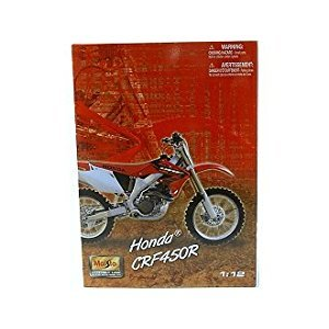 Maisto Assembly Line 1:12 Honda CRF450R - Colors May Vary