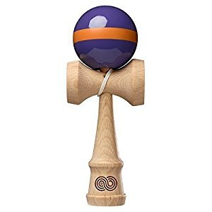 Kendama USA - Kaizen - Single Stripe - Purple & Orange - Gloss